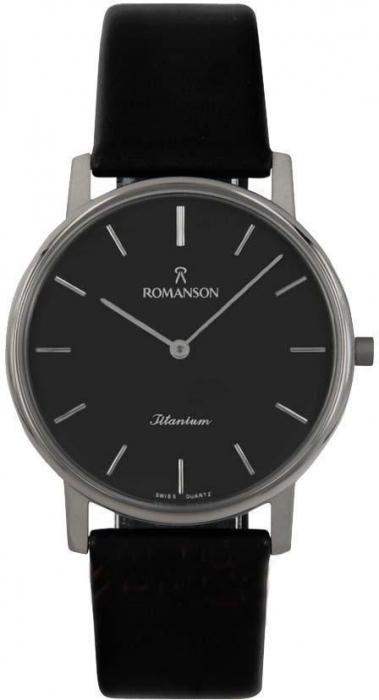 Мужские часы Romanson UL3578SMWH BK