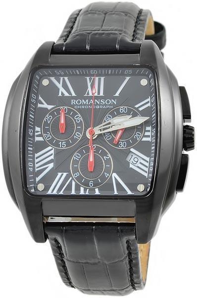 Мужские часы Romanson TL1273HMB BK