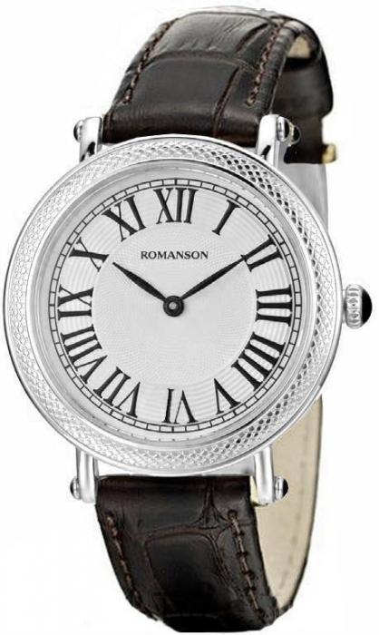 Женские часы Romanson RL1253SLWH WH