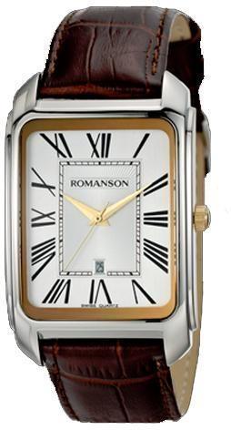 Мужские часы Romanson TL2632M2T WH