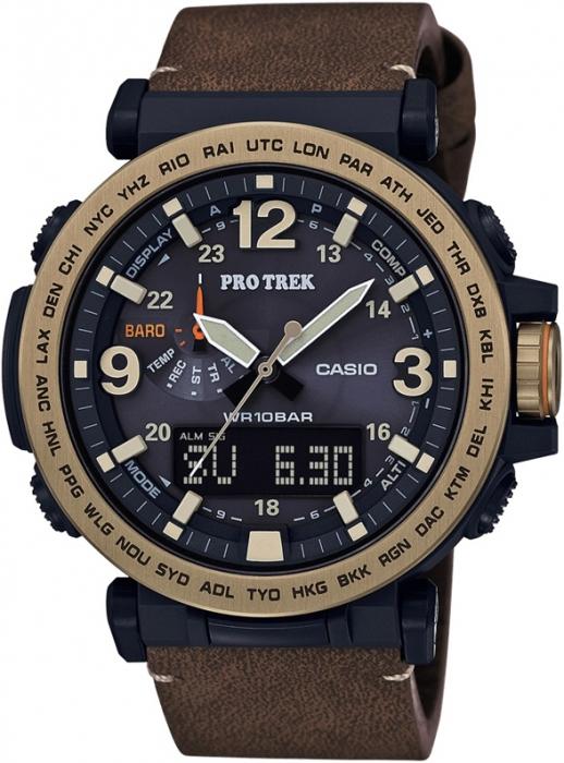 Мужские часы CASIO PRO TREK PRG-600YL-5ER