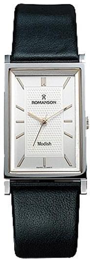 Мужские часы Romanson DL3124CMR2T WHITE
