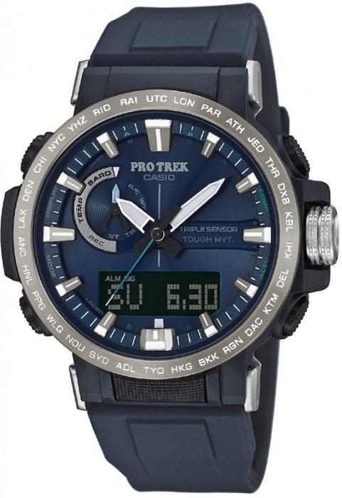 Мужские часы CASIO PRO TREK PRW-60-2AER