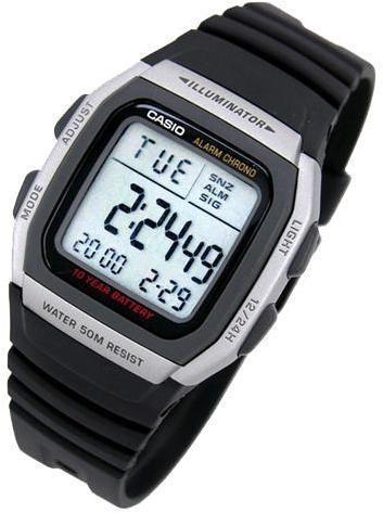 Мужские часы Casio W-96H-1AVEF