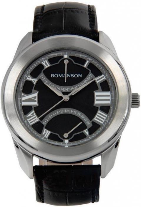 Мужские часы Romanson TL2615BMWH BK