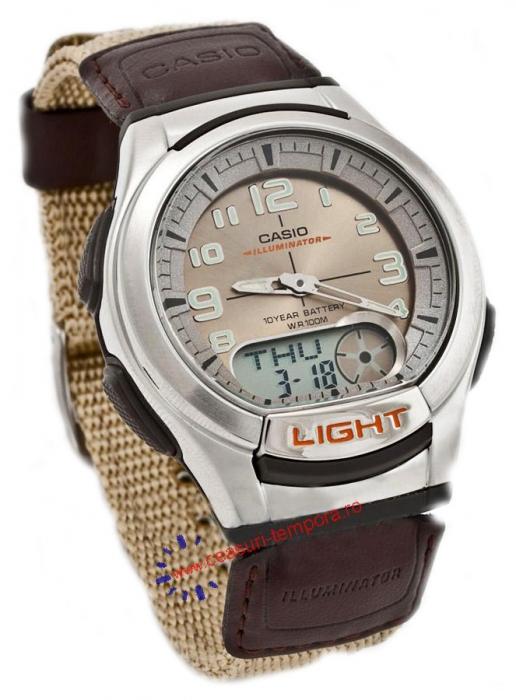 Мужские часы Casio AQ-180WB-5BVEF