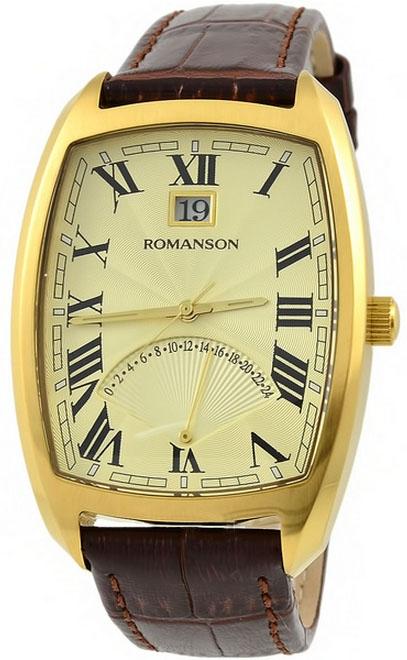Мужские часы Romanson TL0394MG GD