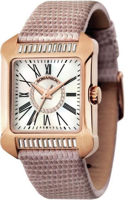 Женские часы Romanson RL1214TLRG WH