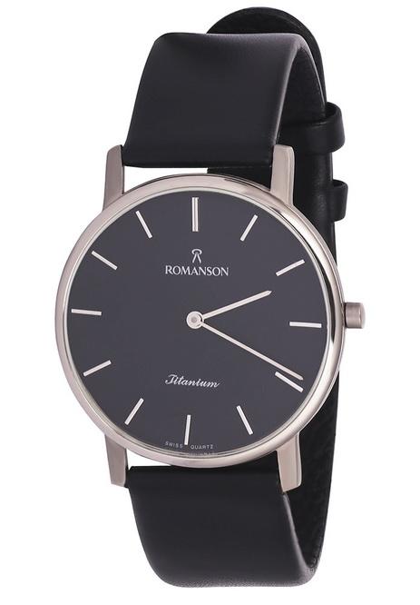 Мужские часы Romanson UL3578MWH BK