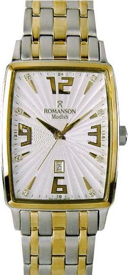 Мужские часы Romanson DM5127M2T WH