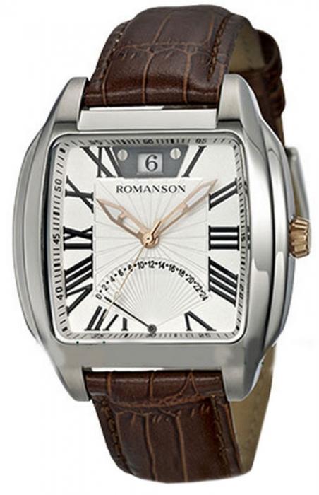 Мужские часы Romanson TL1273MR2T WH
