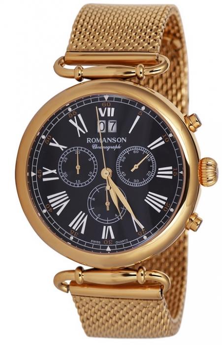 Мужские часы Romanson TM7A13HMGD BK