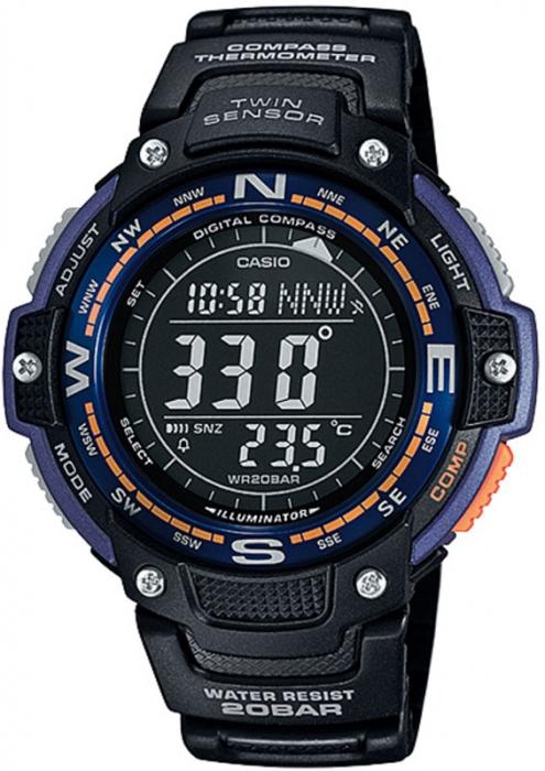 Мужские часы CASIO PRO TREK SGW-100-2BER