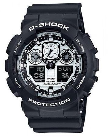 Мужские часы CASIO GA-100BW-1AER