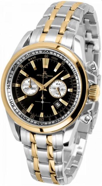 Мужские часы JACQUES LEMANS 1-1117GN