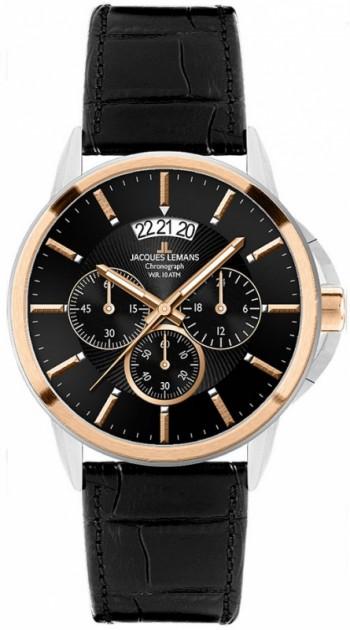 Мужские часы JACQUES LEMANS 1-1542C