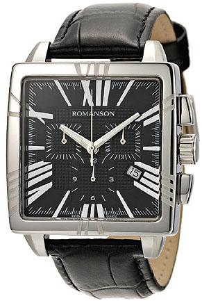 Мужские часы Romanson TL1263HMWH BK